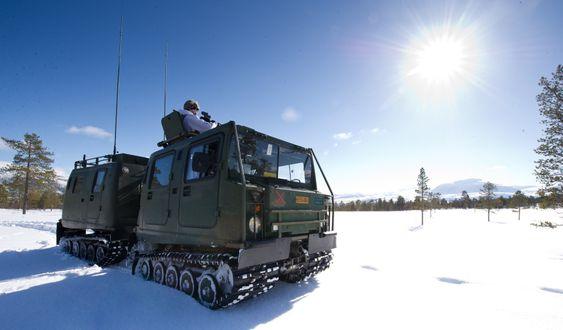 I løpet av høsten 2014 skal Hæren motta rundt hundre moderniserte beltevogner.