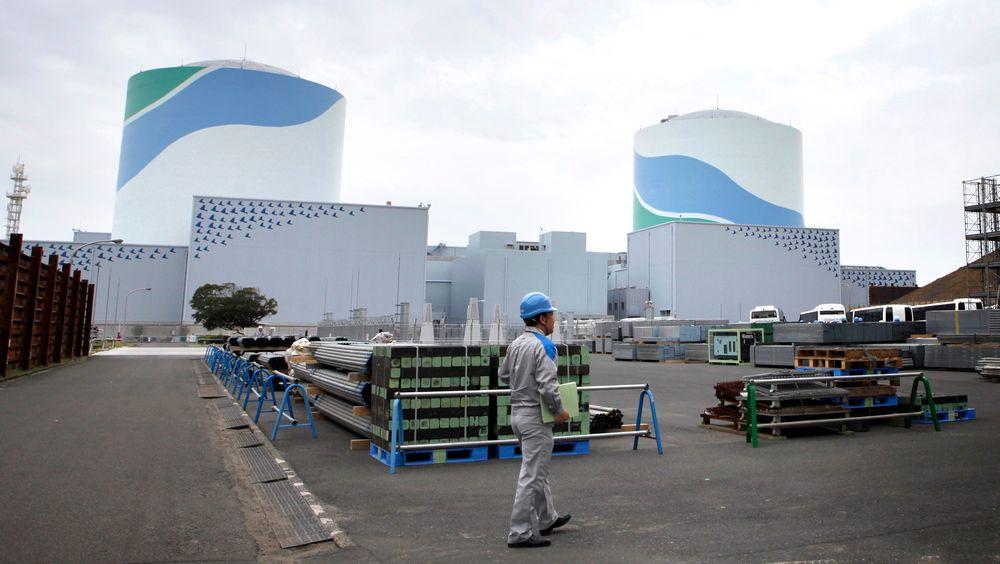 Atomkraftverket Sendai i fylket Kagoshima i Japan.