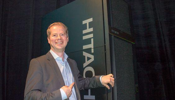 Den nye lagringsverden: Norgessjef Rune Sund i HDS Norge mener den nye lagringsplattformen vil gjøre det billige og bedre for kundene i en hverdag som preges av voldsom datavekst