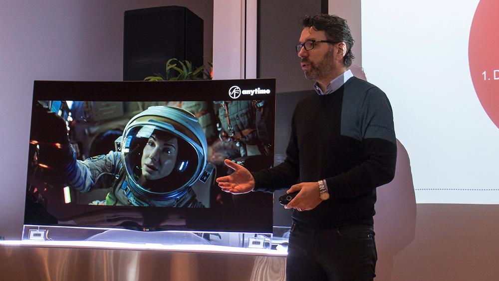 Skal vinne: Markedssjef på TV og lydprodukter i LG i Norden, Leo Dratwa ser for seg at LG snart er nummer en i markedet.