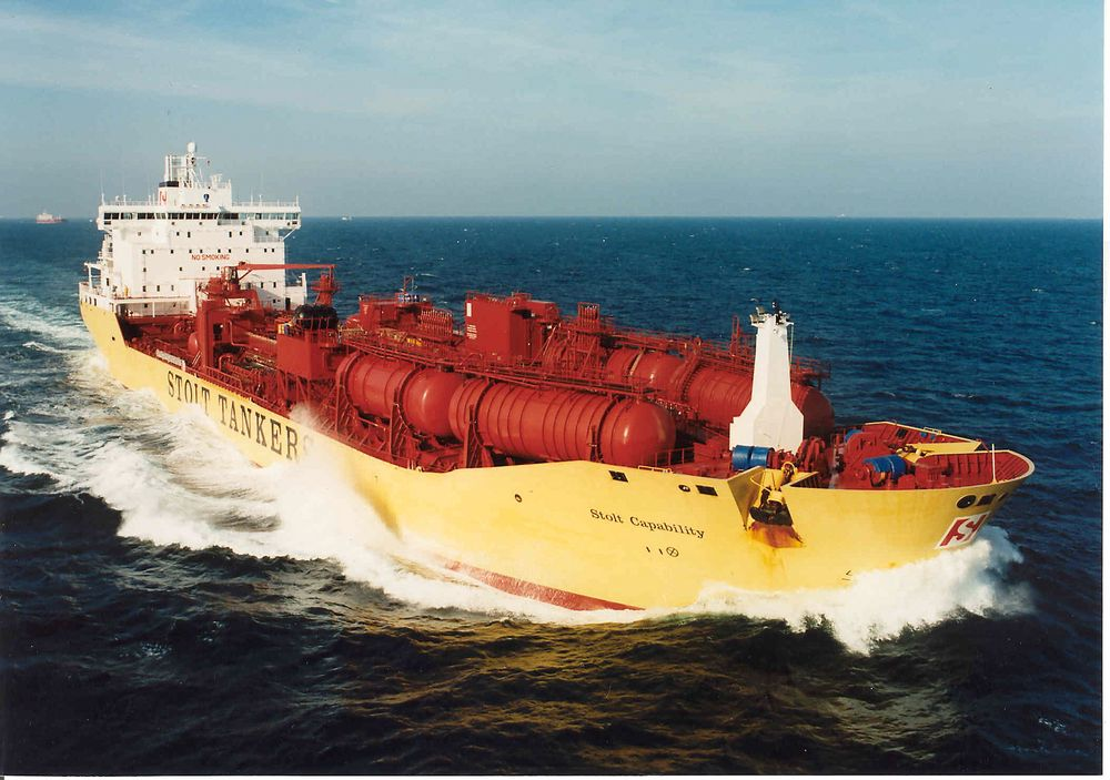 Frank Mohn har levert pumper til en rekke norske og utenlandske skip, blant annet Stolt Tanker. Her Stolt Capability.