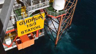 Politiet etterforsker gasslekkasje på Gudrun-plattformen - produksjonen fortsatt nede