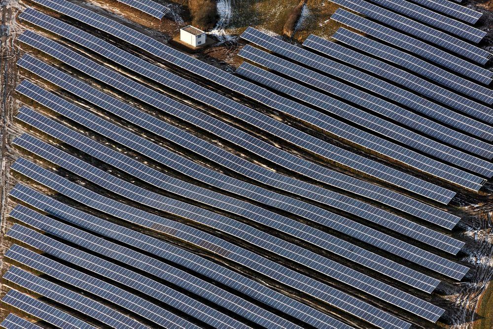 Det norske solkraftselsapet Scatec har fått tillatelse til å byggge et 100 MW fotovoltaisk solkraftverk i Iron County i Utah i USA. Bildet viser Scatecs anlegg i Egglhausen i Tyskland.
