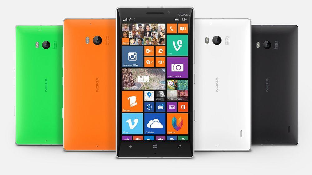 Lumia 930 er Nokias nyeste flaggskip, og kommer med Windows Phone 8.1.