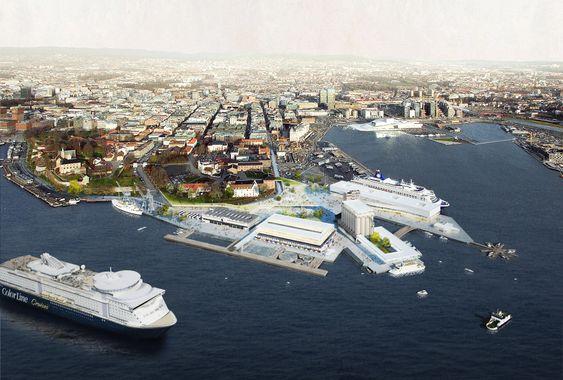 Forslag til Vippetangen laget av Superunion Architects, Carl-Viggo Hølmebakk, Studio HP, Buro Happold, Hovind og Odel. April 2014
