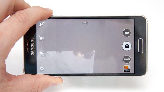 Kameraet har et rent og pent grensensnitt.