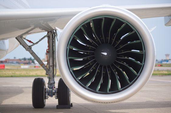 MSN-6101 er utstyrt med P&W 1100G-JM-motorer. Den girede vifta har en diameter på 206 cm. Den første A320 Neo med CFM Leap 1A-motorer skal etter planen i lufta på forsommeren neste år.