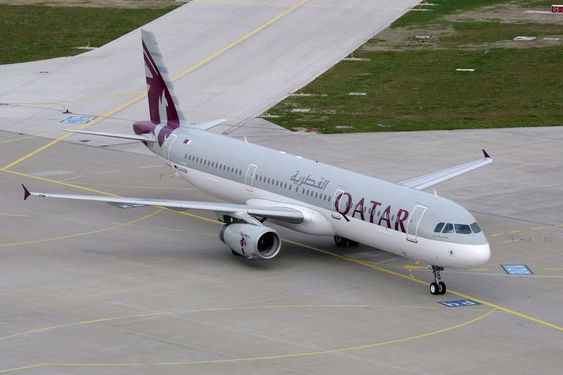 Airbus A321 fra Qatar Airways