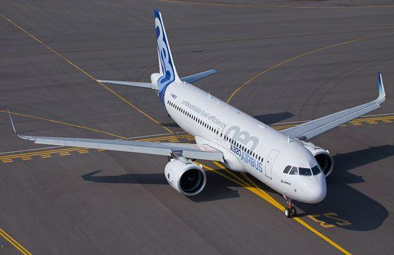 Den første Airbus A320 Neo, MSN-6101