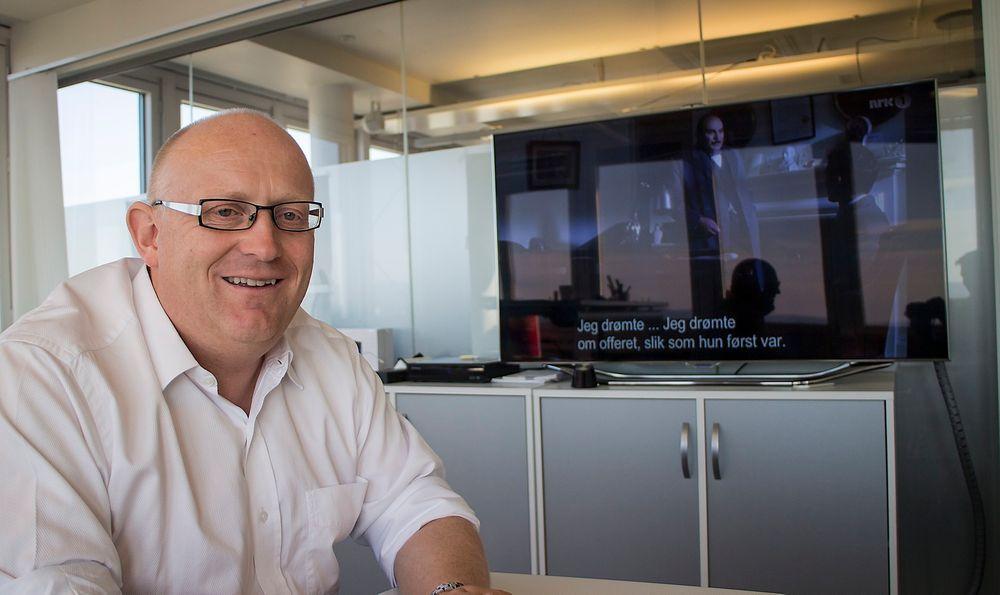 Mye i vente: Sjefen for RiksTV, Christian Birkeland, tror ny teknologi vil mer enn kompensere for bortfallet av 700 MHz-frekvensen. Det er også mulig å skape mer kapasitet i det som er igjen, men nå handler det først og fremst om nye strømmetjenester.