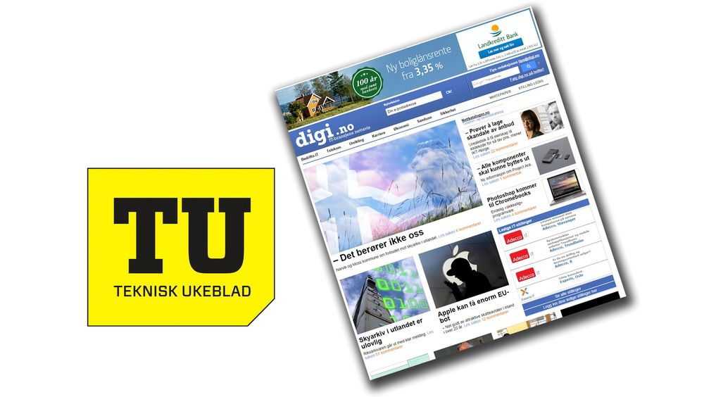 TU Media AS kjøper Digi fra DB Medialab.