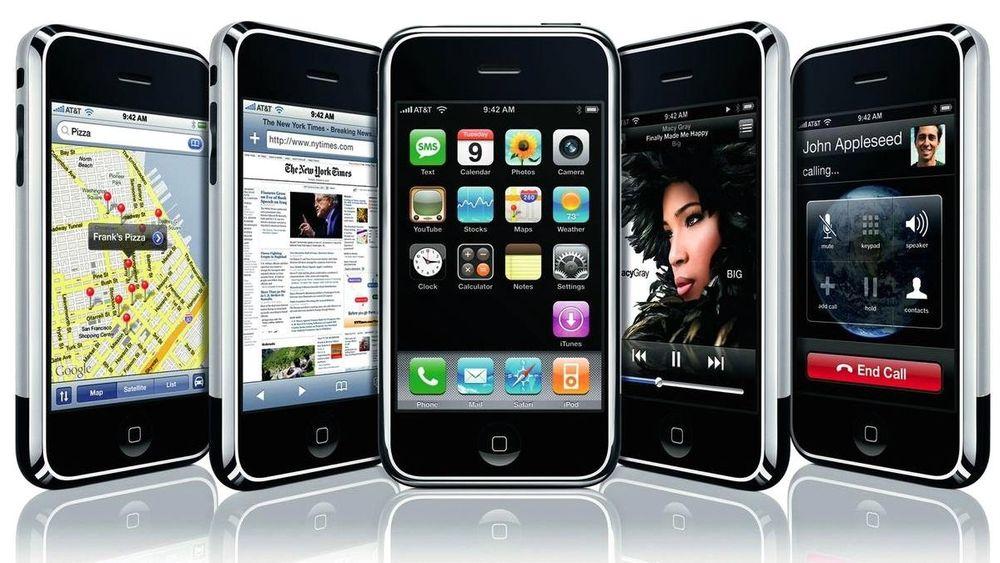 Den første generasjonen iPhone imponerte med designen og menysystemet, men det var mye å kritisere den for.