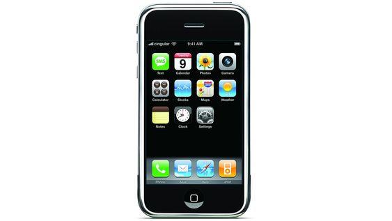 Første generasjon iPhone.