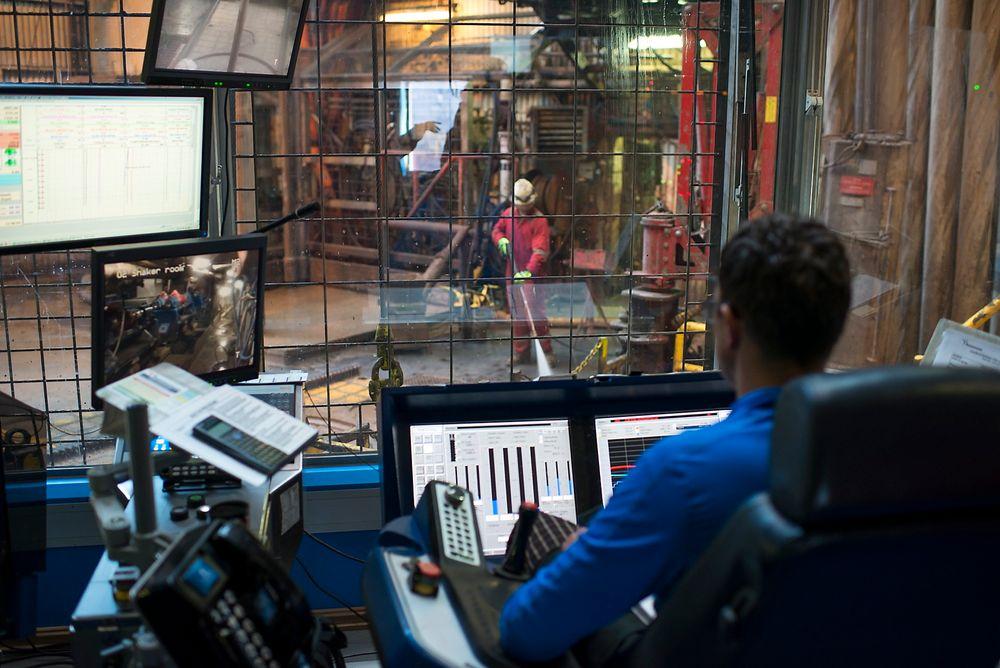 Petroleumstilsynet har kartlagt kompetansen på alle boreansatte som var på jobb på en rigg på norsk sokkel 14. januar i år. Tilsynet viser at 82 prosent av alt borepersonell har formell utdannelse. Illustrasjonsfoto.