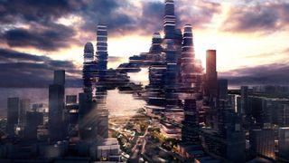 Arkitekter vil bygge en hel bydel i høyden