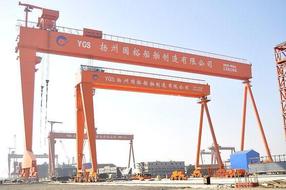 Yangzhou Guoyu Shipbuilding Co.  sakl bygge 22 bulkskip. De skal ha to anlegg hver for ballstvannrensing.