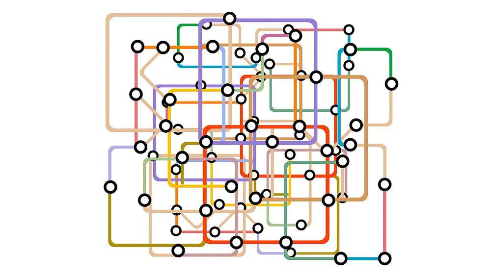Sintef vinner konkurranse for å utvikle algoritme som skal samkjøre mange tog over flere ulike strekninger på kort tid. Bildet er kun til illustrasjon.
