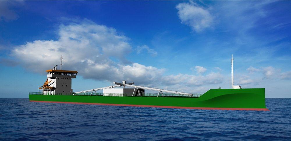 Første bulkbåt som kan benytte LNG er bestilt. JT Cement vil få Wärtsilä 34DF med seks sylindre.