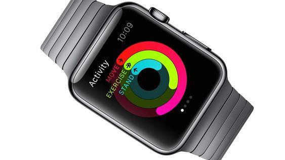 Apples klokke er helseorientert, og kan samle en hel del statistiskk om hvor mye du beveger deg.