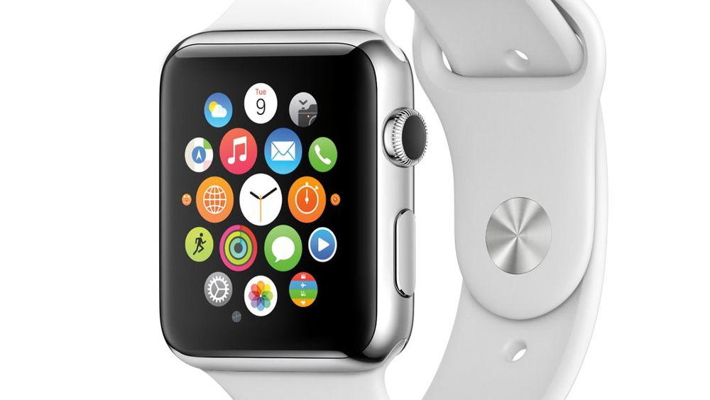 Apple trakk sløret av sin første smartklokke.