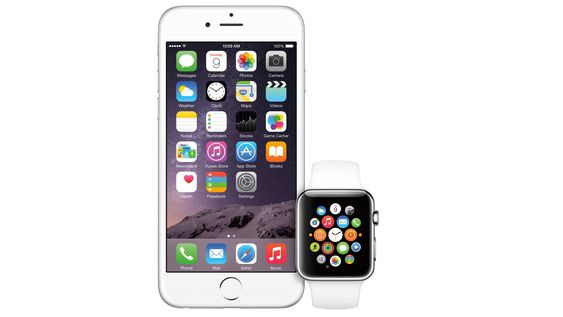 Du må ha en iPhone 5 eller nyere for å bruke Apple Watch.