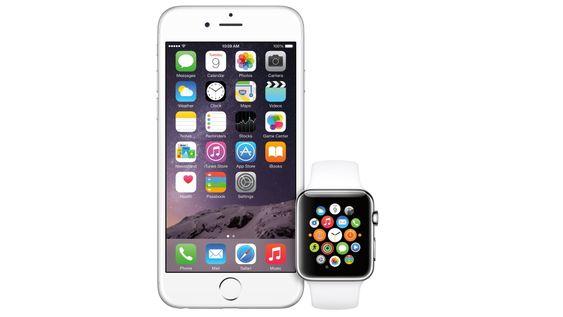 Du må ha en iPhone 5 eller nyere for å bruke Apple Watch.