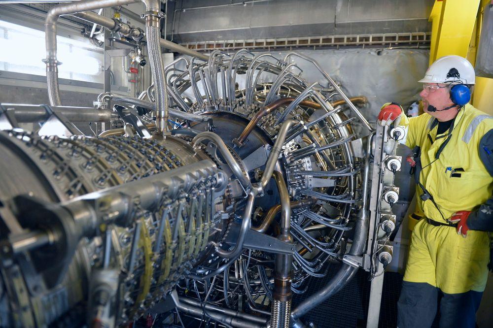 Denne kompressoren på Kvitebjørn skal øke utvinningen fra 55 prosent til 70 prosent.