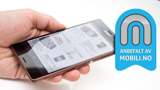 Vi anbefaler Sony Xperia Z3.
