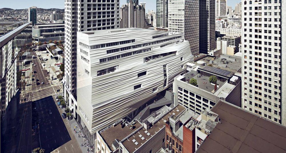 700 glassfiberplater skal dekke dette glitrende byggverket.