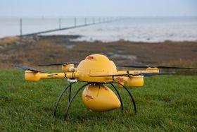 DHL har tidligere testet et dronekonsept kalt Parceldrone i Tyskland.