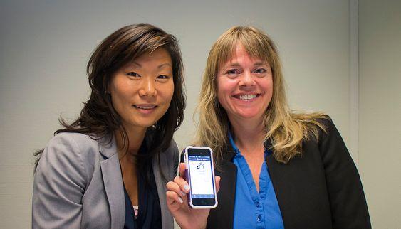 Tar styringen: Produktsjef i Panasonic, Sofia Törnlöf og kommunikasjonssjef i Verisure, Cecilie Knudsen vil gjøre alarmsystemet til husets hjerne.