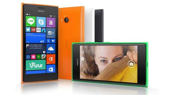 Nokia Lumia 735 og 730 er selfie-orienterte.