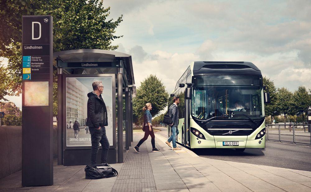 volvo bussen lader automatisk ved endestasjonene. Black Bedroom Furniture Sets. Home Design Ideas