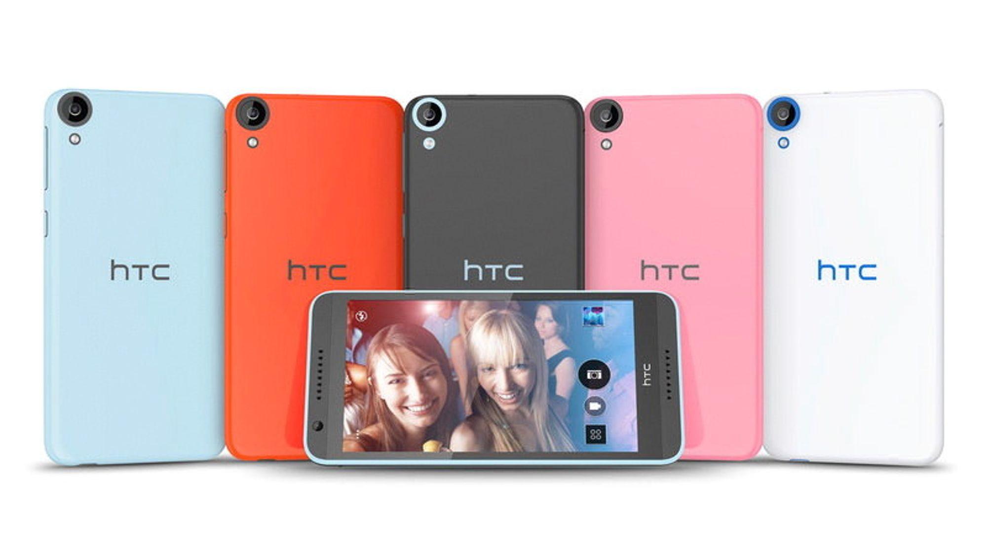 Desire 820 er HTCs andre 64 biters Android-telefon, og den første i mellomsegmentet.