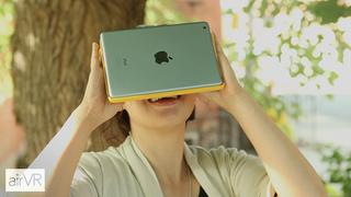 Gir deg virtual reality med iPaden klistret til fjeset