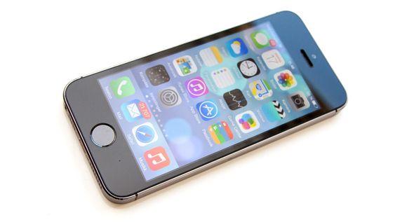 iOS 8 ser praktisk talt likt ut som iOS 7.