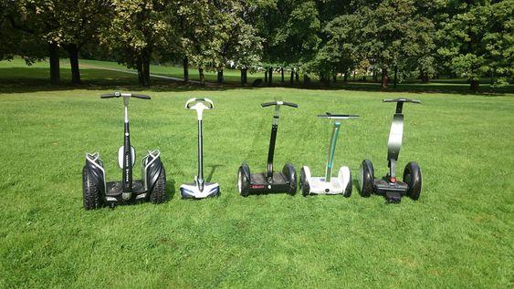 Stråhjulinger: Fem til dels veldig ulike ståhjulinger ble testet