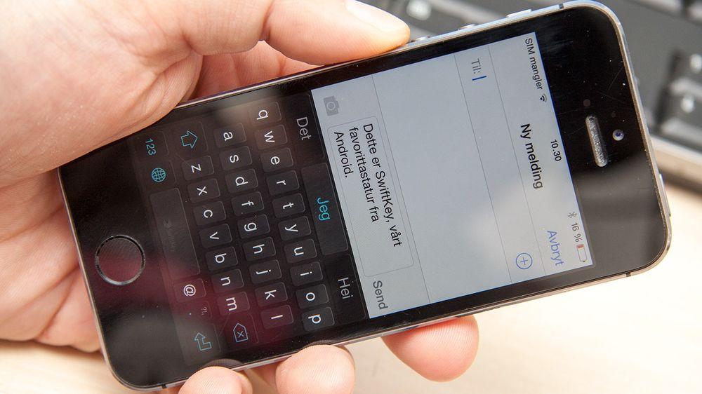 SwiftKey er et populært tredjepartstastatur på Android. Nå kan du installere det på iPhone.