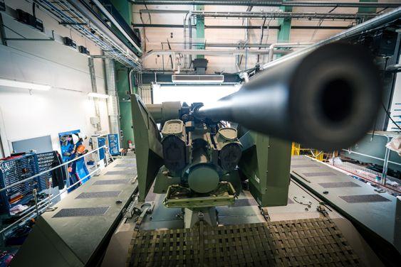 Alle de 144 nye CV90-panservognene Norge har bestilt utrustes med fjernstyrt våpenstasjon.