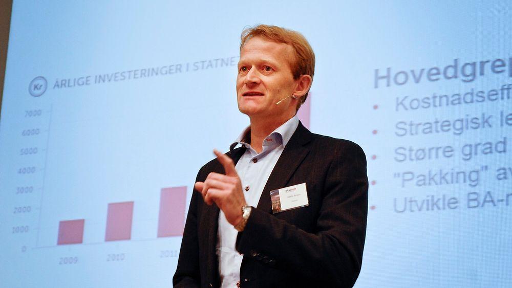 Konserndirektør Håkon Borgen i Statnett sier han har måttet lære opp entreprenører i helt grunnleggende HMS-arbeid.