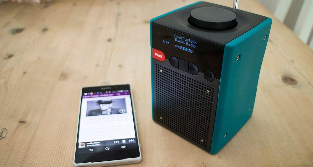 Strømmer: Nye Pinell Go + er utstyrt med Bluetooth. Det betyr at den populære digitalradioen kan fungere som høyttaler for strømmelyd. Og med det batteriet holder den mye lenger enn de fleste