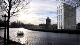Her bygger det nederlandske arkitektfirmaet hus med 3D-printer