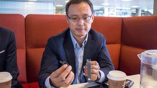 Huawei-sjef: Ikke bra at Apple og Samsung tar hele kaka