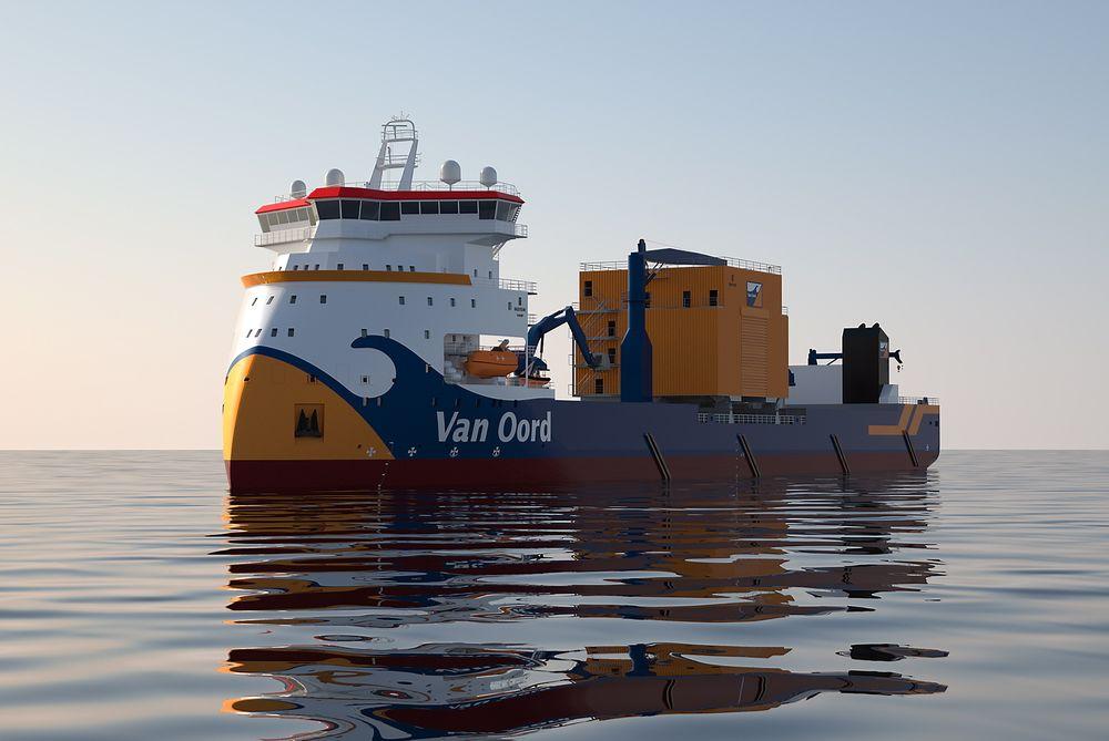 Nytt: Ulstein har utviklet steinleggingssystemet til Bravenes og testet det i fullskala tidligere i år. Skipet blir  og 154 meter langt, 28 meter bredt og på 14.000 dødvekttonn.