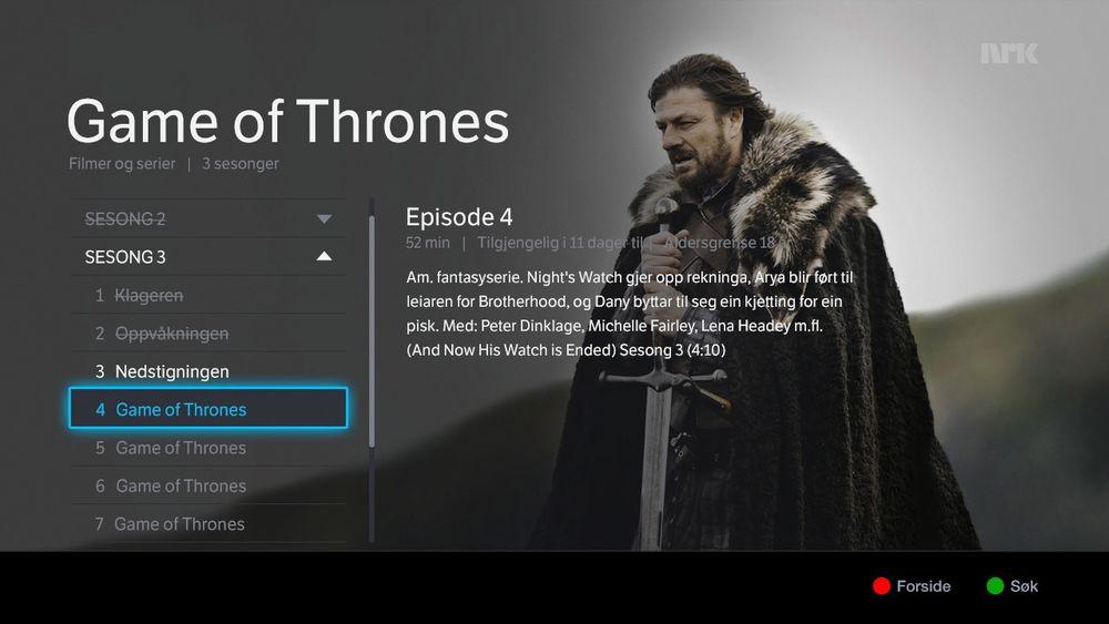 RiksTVs kunder skal få tilgang på alt innhold som tilbys på NRK nett-TV.