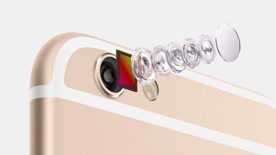iPhone 6 er utstyrt med et 8 MP iSight-kamera med en ny sensor som skal gjøre at iPhone 6 angivelig skal fokusere bedre enn noen sinne.