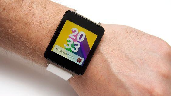 G Watch har flere klokkeskjermer du kan velge mellom. Denne føltes akkurat hipp nok for Mobilis journalist.