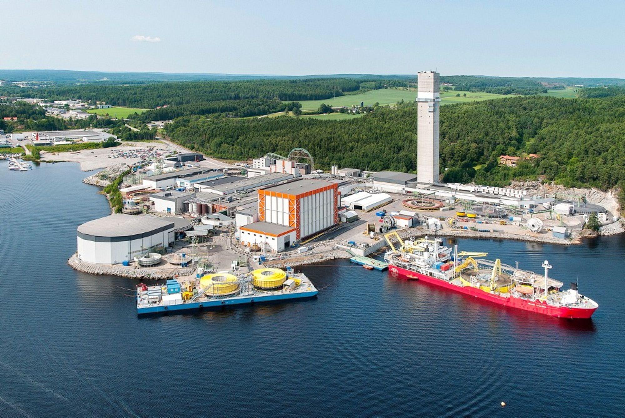 For å ikke tape konkurransen på kabelmarkedet er Nexans' fabrikk i Halden avhengig av at Ringdalsfjorden utvides raskt.