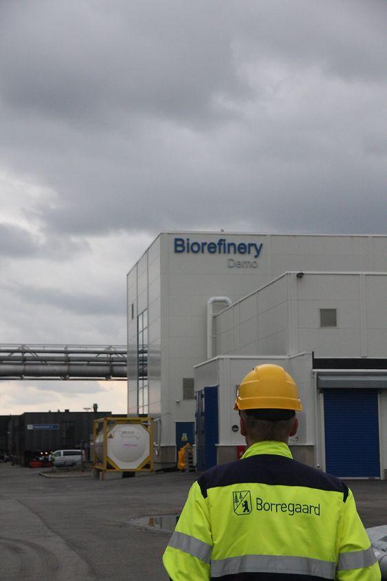 Framtid: Borregaards bioraffinerianlegg der BALI-teknologien blir testet ut i praksis. Demoanlegget er et viktig skritt på vei fra laboratorium til kommersiell virksomhet. BALI er innvilget patent i Europa på teknologien som konverterertrevirke til sukker som kan brukes til framstilling av 2. generasjons biodrivstoff eller biokjemikalier, samt spesialprodukter fra lignin.