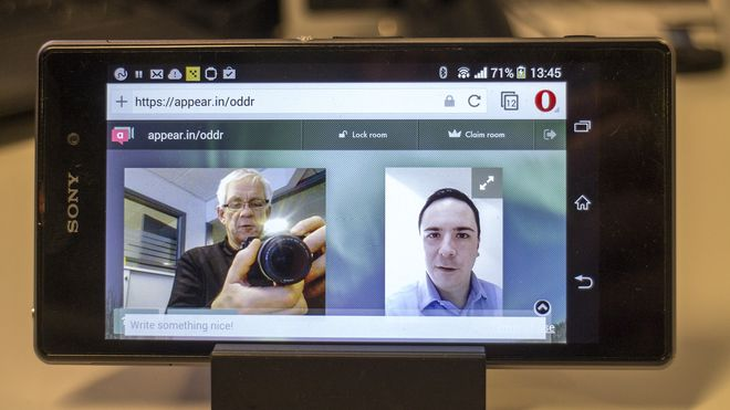 Operas nettleser gir tilgang til mobilkameraet